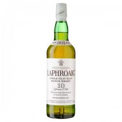 Laphroaig malt whiskey