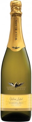 Wolf Blass Yellow Label Pinot Noir Chardonnay Sparkling Brut 75cl 1