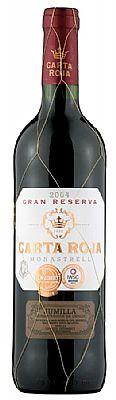 Carta Roja Gran Reserva Monastrell 75cl 1