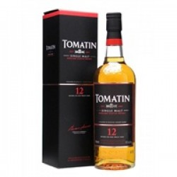 Tomatin Malt Whisky 12 year old 70cl 1