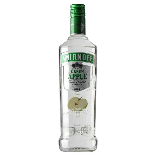 Smirnoff Green Apple Vodka 70cl - Wine Counter