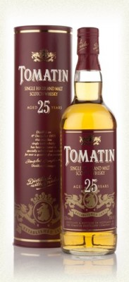 Tomatin Malt Whisky 25 year old 70cl 1