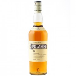 Cragganmore Malt Whisky 12 year old 70cl 1