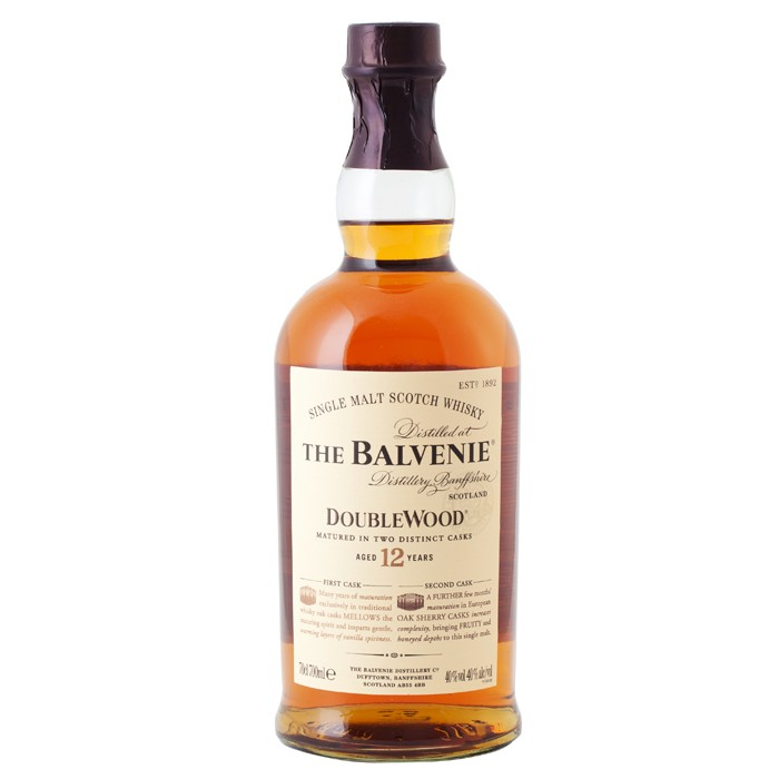 Balvenie doublewood single malt scotch whiskey Balvenie single