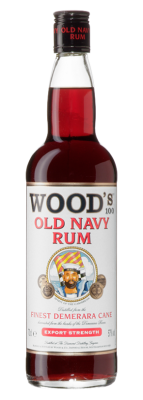Wood's 100 Old Navy Rum 70cl 1