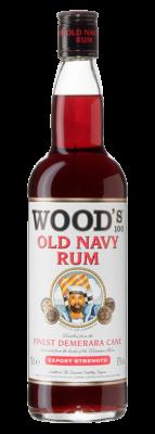 Wood's 100 Old Navy Rum 70cl 1